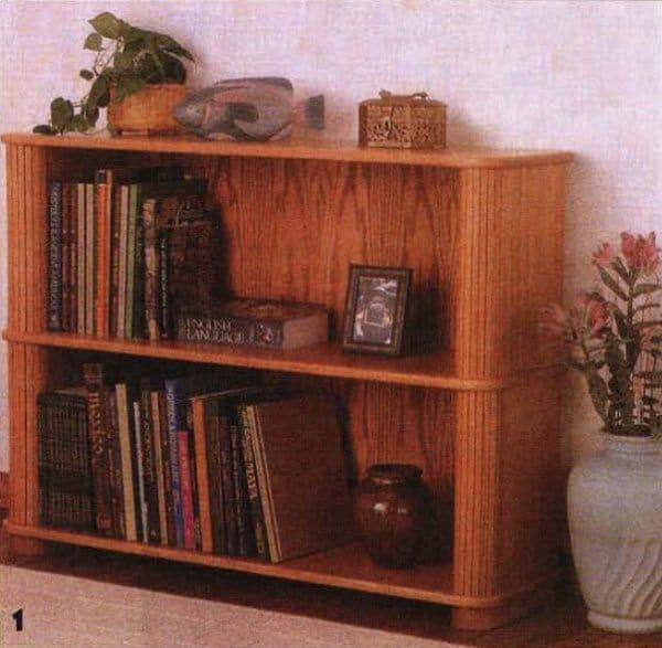 Как сделать книжный шкаф своими руками в домашних условиях 388