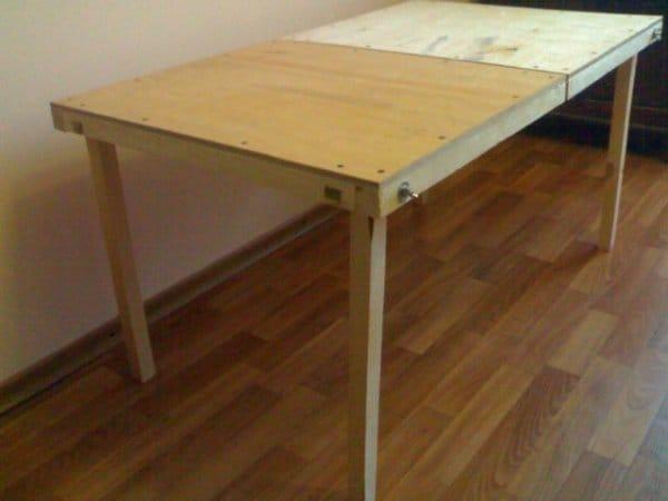 Изготовить раскладной стол своими руками
