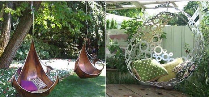 Арки для сада из подручных материалов