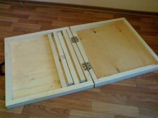 Раскладной стол для пикника своими руками фото