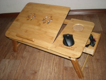 Для ноутбука стол своими руками фото