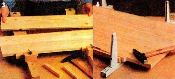 Изготовление мебельного щита своими руками 38