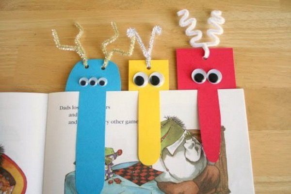 Поделки закладки для книг своими руками из бумаги для детей