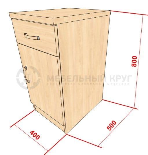 Как сделать самому тумбочку с ящиками