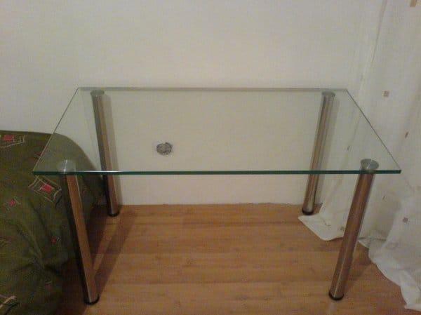 Как своими руками сделать стеклянный стол 75