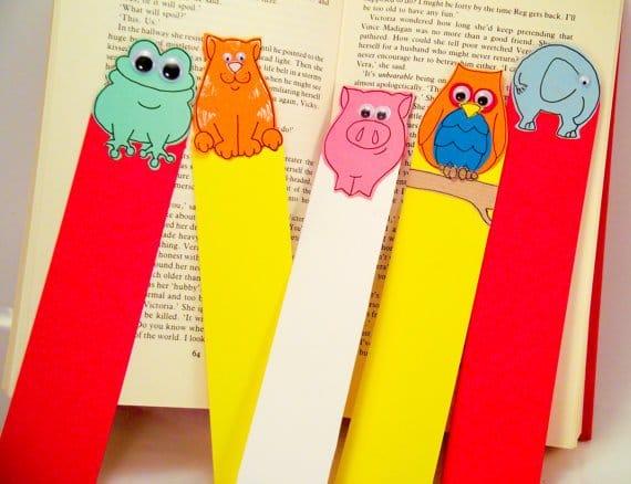 Закладки для книг своим руками с детьми