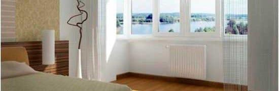 """Теплое"""" остекление балконов и лоджий пвх окнами."""
