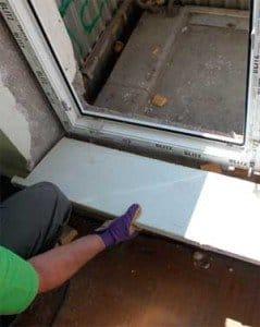 Как сделать порог на балкон своими руками