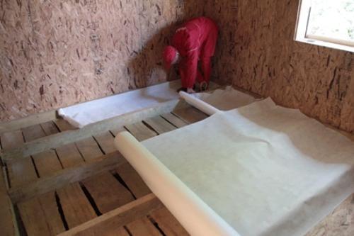 Как поменять полы на даче своими руками