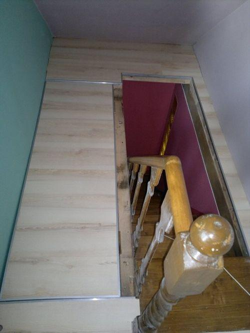 Как сделать лестницу на выходе из дома