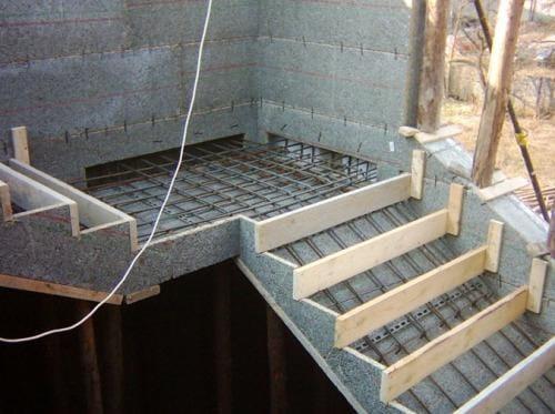 Опалубка для лестницы своими руками 320