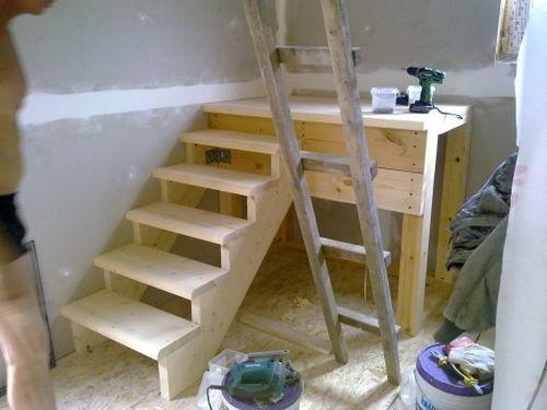 Лестницы на второй этаж своими руками пошаговая  471