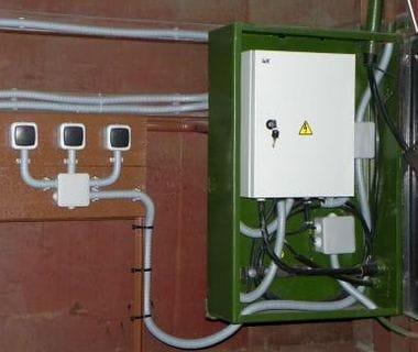 Монтаж электропроводки в гараже своими руками 4