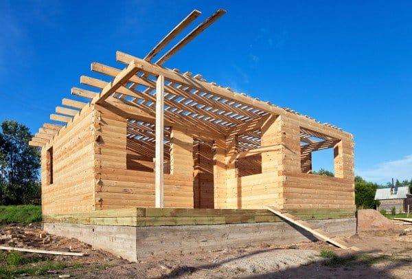 Строим деревянный дом из бруса своими руками 31