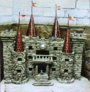 Поделки замки из камней своими 33