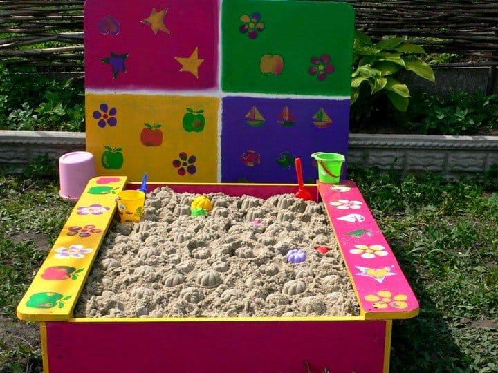 Детская площадка для ребенка своими руками