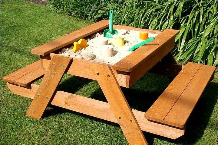 Столики для детских площадок своими руками