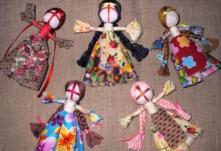 Из делать как ткани руками кукла путанка