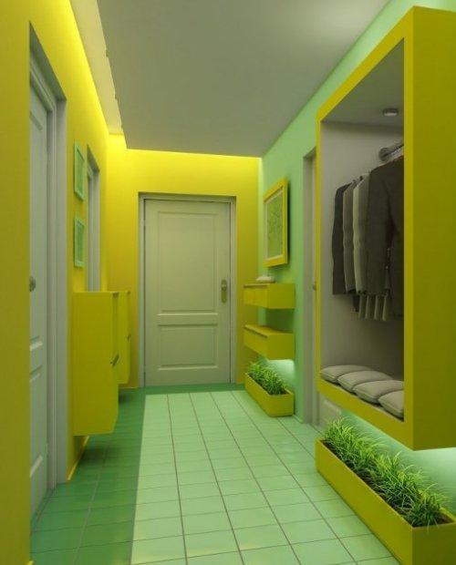 Фото маленьких коридоров дизайн