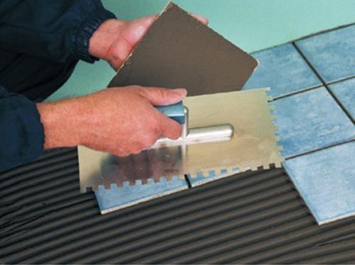 Технологія укладання керамічної плитки