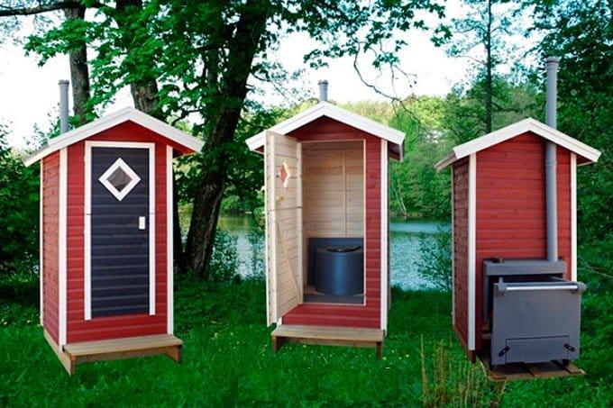Туалет для частного дома своими руками 34