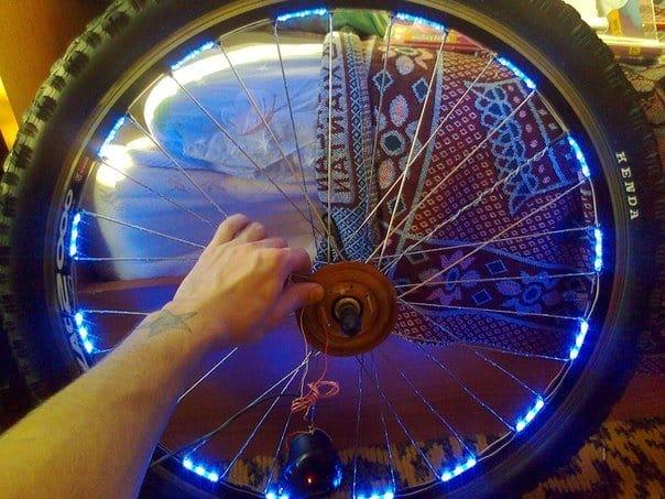 Как украсить колесо велосипеда своими руками 86