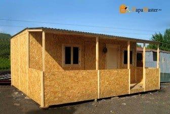 Из чего дёшево построить дачный домик своими руками 11