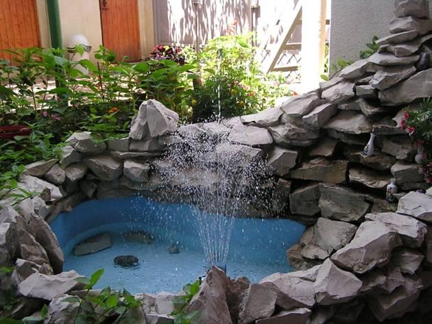 Фото водопад во дворе своими руками фото 35