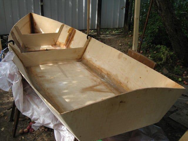 лодка своими руками дизайн комнаты
