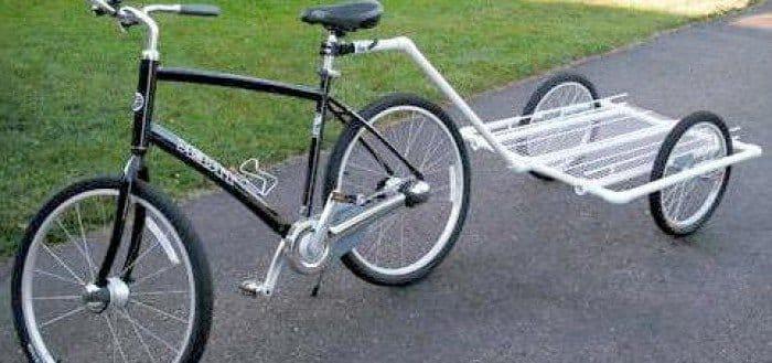 Как сделать телегу на велосипед своими руками из дерева