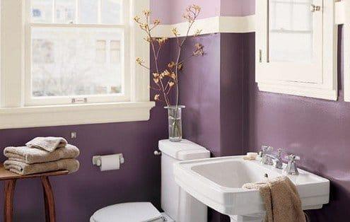 Фіолетова ванна кімната фото – 30 варіантів дизайну ванної фіолетовою