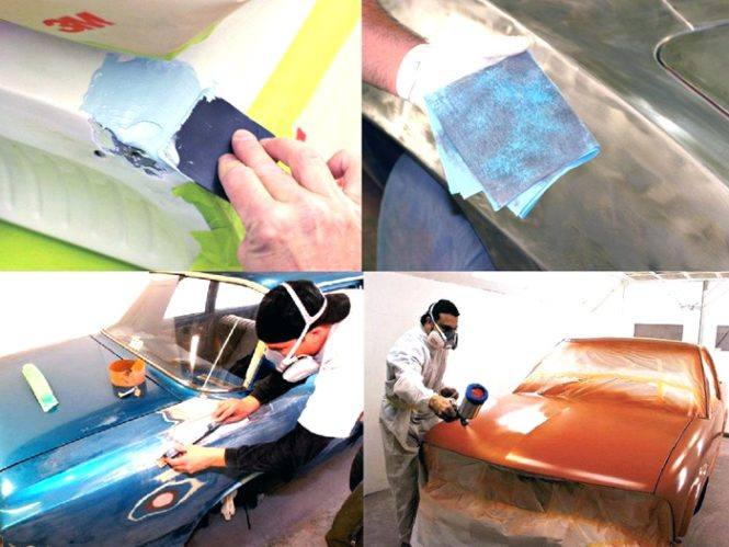 Как правильно перекрасить машину своими руками 35