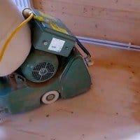 Циклювання дерев'яної підлоги