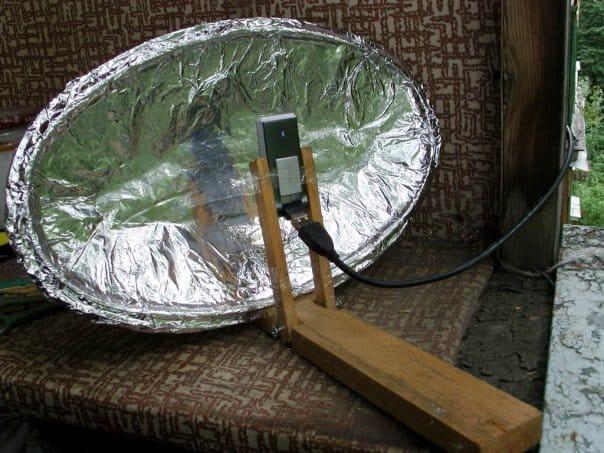 Сделать спутниковая антенна своими руками 779