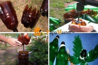 Пальмы из пластиковых бутылок своими руками фото пошагово