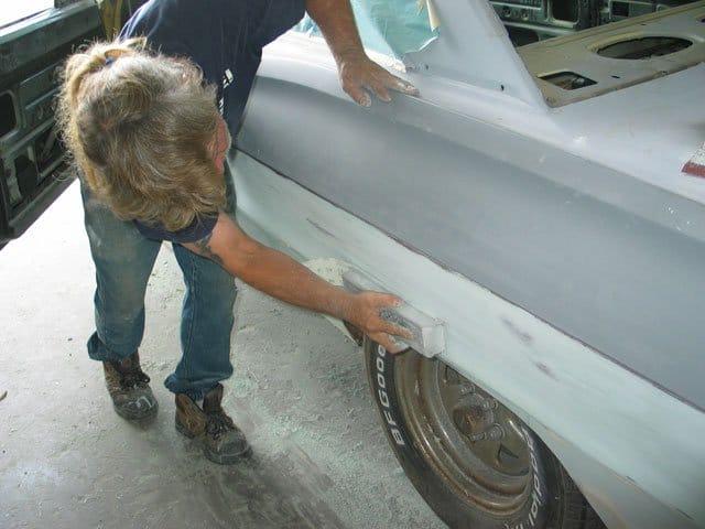 Шпаклевка автомобиля своими руками видео уроки 353
