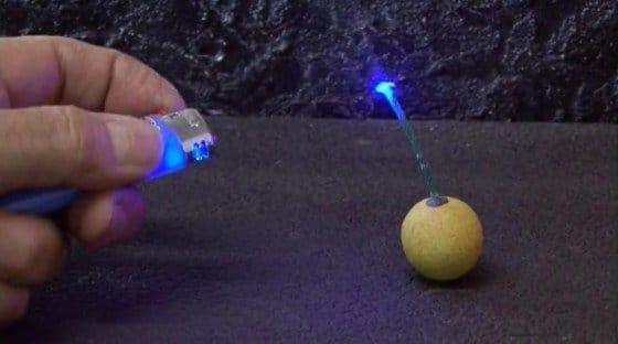 Как сделать лазер который режет