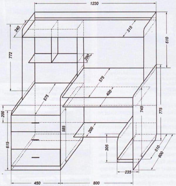 Мебель из дерева своими руками чертежи и схемы сборки 100
