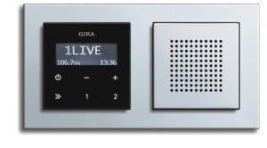 Радіо для ванної кімнати – вбудований радіо