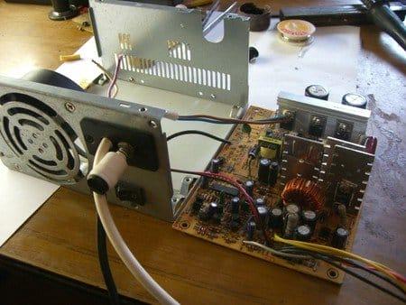 Как сделать из блока питания от компьютера зарядное устройство для акб