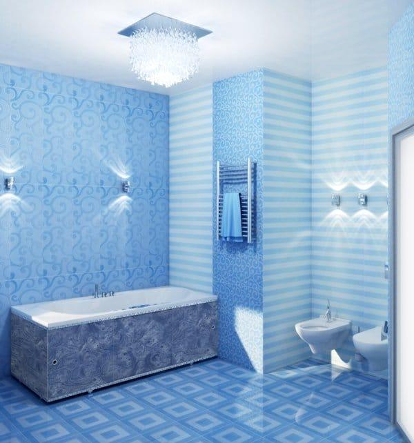 Отделка стен в ванной комнате панелями пвх своими руками 2