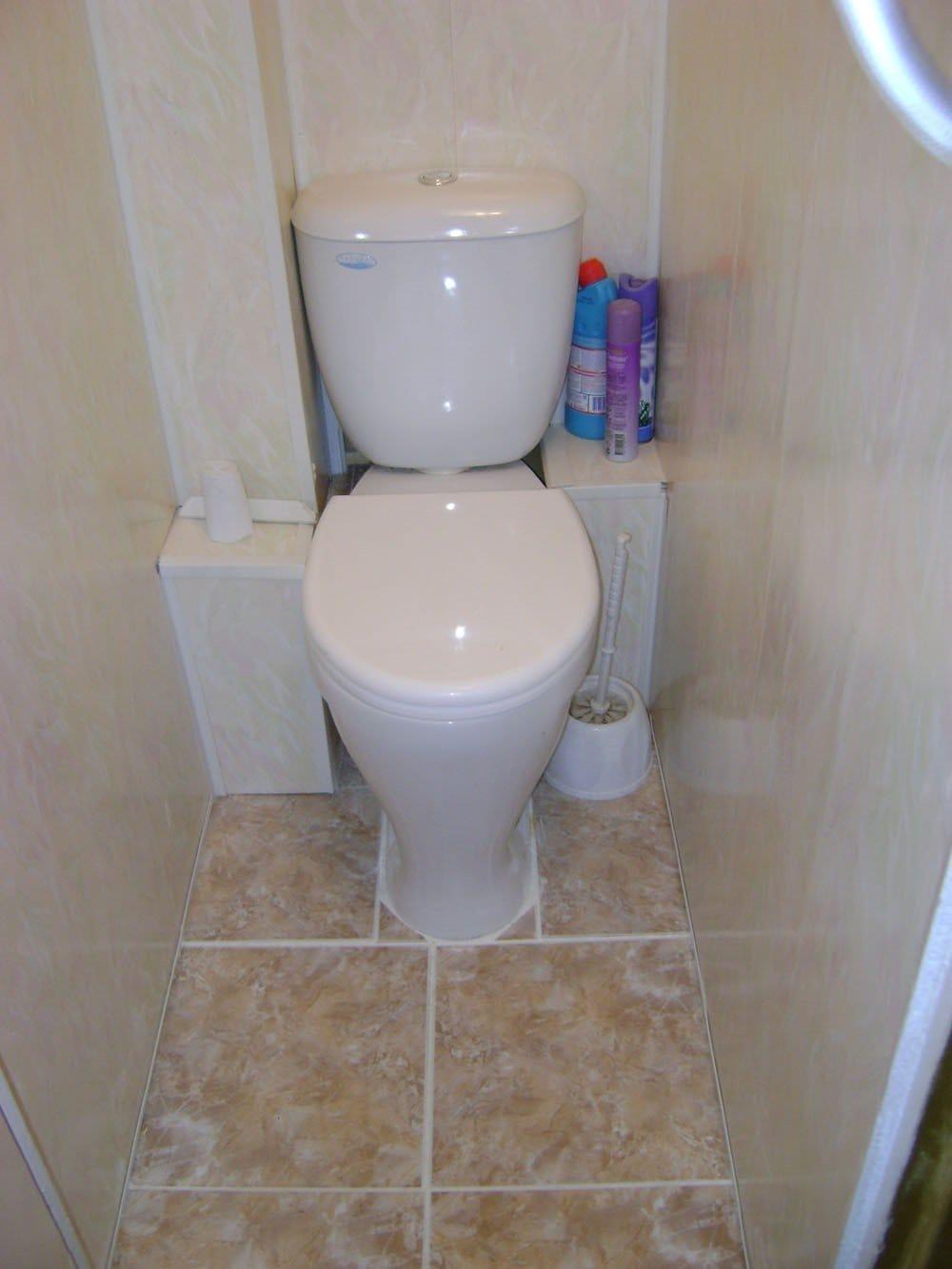 Как сделать туалет в квартире фото из панелей