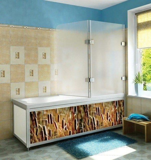Боковая панель для ванной своими руками 62