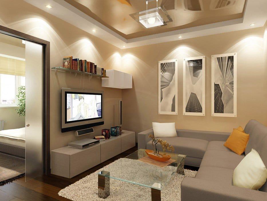 Люстры для однокомнатной квартиры фото
