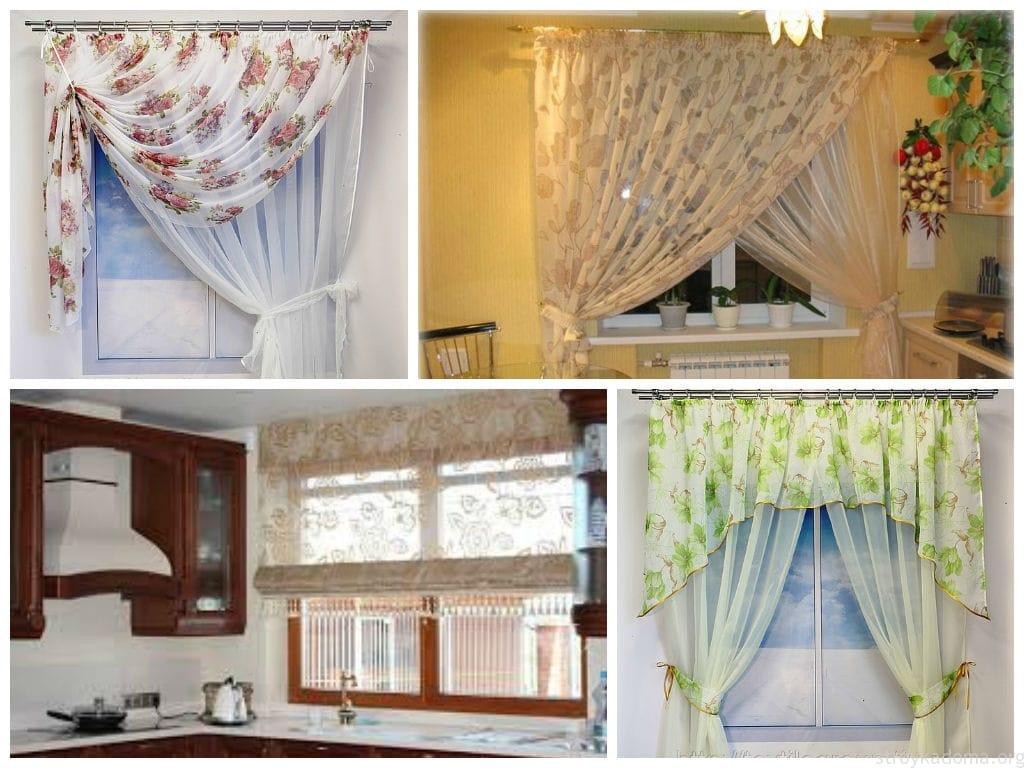 Фото шторы дизайн короткие