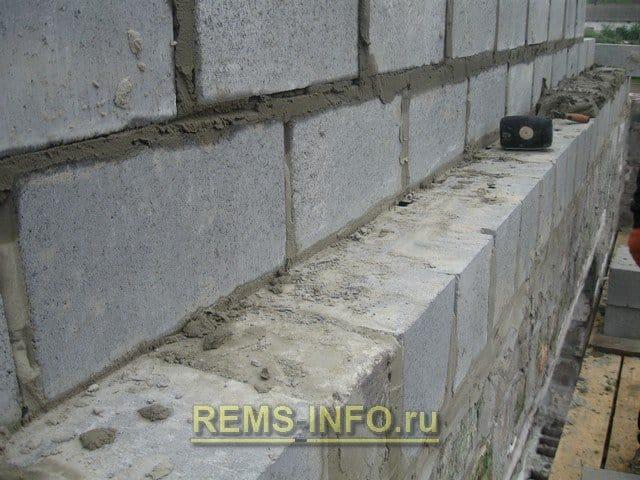 Кладка блоков своими руками пошаговая инструкция 42