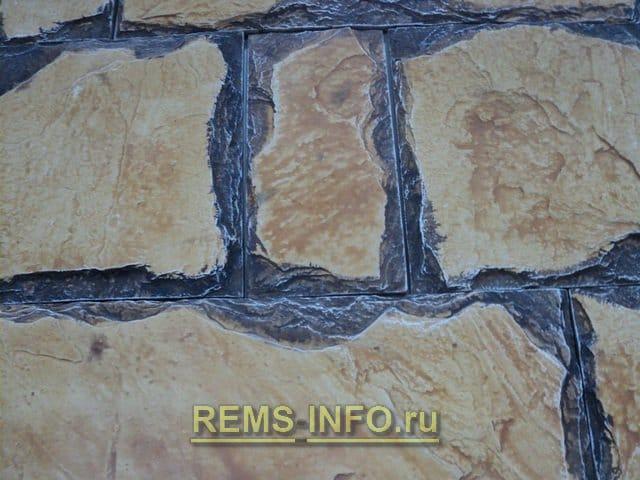 Декоративна плитка під камінь – фото, нюанси при укладанні своїми руками.