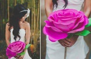 Бумажные розы своими руками огромные