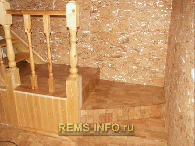 Коркова плитка для стін – все за і проти цього варіанту обробки стін.