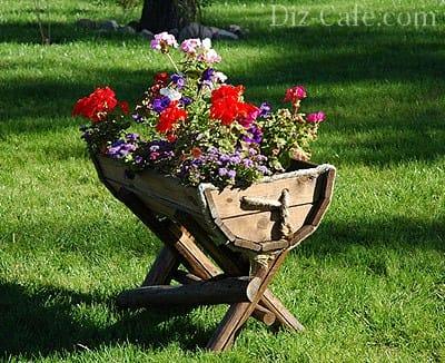 Вазони для квітів своїми руками з покришок, бетону та інших матеріалів